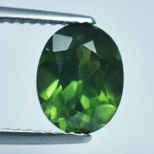 2.62 Ct Exclusively Cut Natural Green Zircon From Cambodia !!