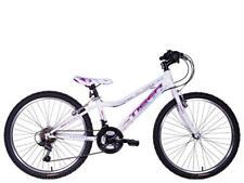 "Tiger Angel Girls 24"" Wheel 18 Speed MTB Mountain Bike White Purple TG2421"