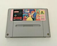 Disney's Beauty And The Beast - Super Nintendo SNES Game - Cartridge Only - PAL