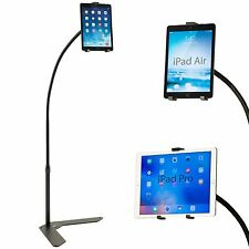 "Standzfree 48"" Universal Hands Free iPad Tablet Floor Stand by Standzout - Black"
