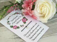 Self Esteem Wish Bracelet Friendship Gift Card Tibetan Star Charm A Special Wish