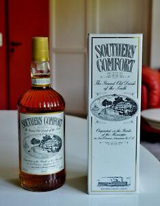 Southern Comfort im Originalkarton 1 Liter 43 % 1991 Dublin Irland ungeöffnet