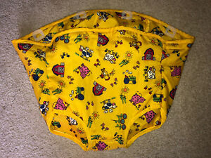 Evenflo Exersaucer Farm theme Yellow Seat Fabric Cover Replacement Part