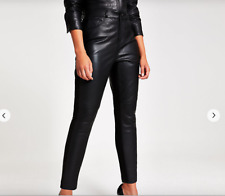 BNWT River Island Leather Trousers SOLD OUT Faves, Sz 12, Me+Em FAB styling