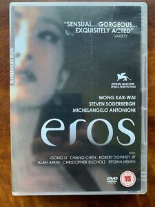 Eros DVD 2004 Anthology Movie directed by Wong Kar Wai Soderberg Antonioni
