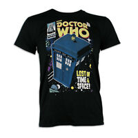 Dr Who T-Shirt | Mens Tardis T-Shirt | Doctor Who Tee | Tardis Top | NEW