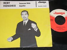 BERT HENDRIX Tennessee-Waltz & Jaqueline / DDR SP 1965 AMIGA 450491