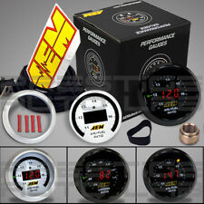 AEM Electronics Original Wideband O2 UEGO Air/Fuel Ratio Controller Gauge, Black