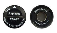 2 Dog High Tech 67D Battery Probe Replacement Dog Shock Collar Prong RFA 529 67D