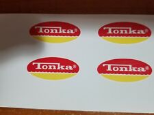 TONKA TRUCK OVAL LOGO DECAL 1974-75