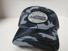 New, Calcutta Hat Camo With Black Mesh Back Lure Patch 519101