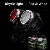 Luce Bici Posteriore Fanale 3 LED Sicurezza Bicicletta Batteria integrata Rosso