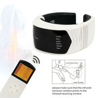 Wireless Neck Massager With Infrared Heat and Remote Control Cervical Therapy