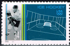US Sport Hockey scene 2002 stamp MNH