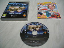 PS3 game - TV Superstars (good condition complete PAL)
