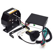 8 Tone Sound Loud Car Warning Police Fire Siren Horn PA Speaker MIC System Great