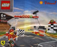 LEGO 40194 Racers Ferrari Finish Line & Podium Shell Promo Polybag NEW/SEALED