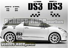 Citroen DS3 001 SIDE Racing Graphics Autocollants Décalques Vinyle