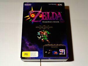 Nintendo 3DS Game - Zelda Majora's Mask 3D Special Edition - BRAND NEW+UNOPENED