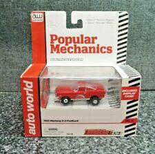 AW Popular Mechanics 1965 Ford Mustang Fastback Ho Slot Car Mint Package Ultra G