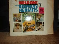 HERMAN HERMITS  HOLD ON SOUNDTRACK   1966  VINYL LP  MGM RECORDS LEANING ON LAMP