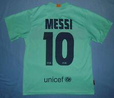 FC BARCELONA / MESSI #10 - 2010-2011 Away - MENS Shirt / Jersey. Size: M