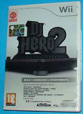 DJ Hero 2 - Nintendo WII - PAL