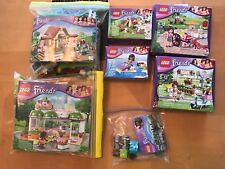 Lego Friends Lot Horse Stable Fruit Stand Ice Cream Bike Lemonade Stand Bunny
