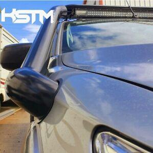 Mitsubishi triton MQ stainless snorkel. 2015-2021 seamless/satin black••••••
