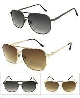1 or 2 Pairs Aviator Large Full Lens Reading Sunglasses Sun Reader Metal Frame