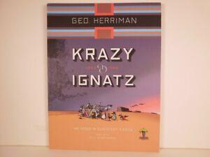 Krazy & Ignatz: Complete Sundays 1943-1944  He Nods In Quiescent Siesta