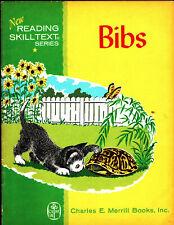 Bibs, New Reading Skill Text Series, Eleanor Dart, 1961, Vintage Kids Book