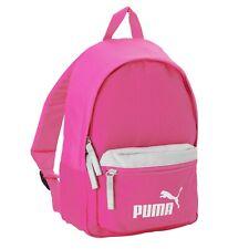 Mochila Escolar Gimnasio Colegio Puma Mini Deporte Bolsa Trotar Correr Caminar Niños Niñas