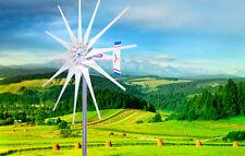 2500 W WindZilla PMA 12 V AC 12 White Blade Wind Turbine Generator+ 2 Bearings