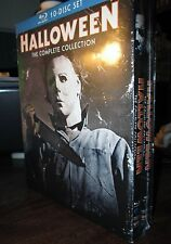 HALLOWEEN: The Complete Collection [Blu-ray] New. 10 movies. Free shipping.
