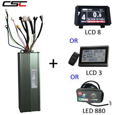 Electric bike 48V 1500W/2000W Dual mode Brushless 18 Mosfet Controller+ display