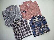 NICE LOT 4  American Rag Cie PLAID Cotton LONG SLEEVE POLO SHIRTS  Mens XXL