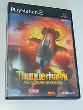 SONY PS2 ///  THUNDERHAWK OPERATION PHOENIX - JEU D'HELICOPTERE