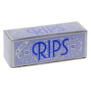 Rips Rolls Rolling Papers King Size Blue Pack Size Discounts - FREE POST