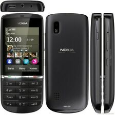Nokia Asha N300 - Black Graphite touch screen (Unlocked) Smartphone (A00004627)