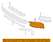 BMW OEM 17-18 530i Front Bumper Grille Grill-Outer Grille Right 51118064964