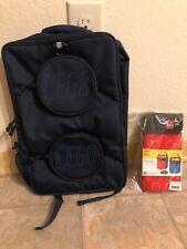 Carrygear LEGO Brick Backpack Navy W/ Free LEGO Storage Bucket