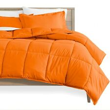 100% EGYPTIAN COTTON COMFORTER SOLID ALL SIZE AVAILABLE IN ORANGE COLOR