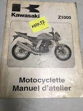 Kawasaki Z1000 2003 A1 Z 1000 revue technique manuel atelier moto 1000Z