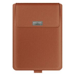 Bertronic Kunstleder-Tasche für Laptops - mit Stifthalterung und Standfunktion