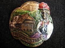 Freudenstadt Schwarzwald Used badge stocknagel hiking medallion G4242