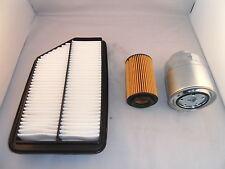 Honda FR-V FRV 2.2 CRDTI Diesel Service Kit Oil + Air Filter Spark Plugs 2005-On