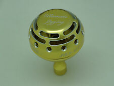 UJ PRK 45mm type II knob for Shimano Talica TAC 8 10 12 16 20 25 reel Pale Gold