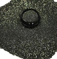 3ml Glitter 0,2mm, Gold-grün, Glitterstaub, Puder in Acryl Dose, Nr. 801-034-a