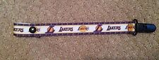 SUPER CUTE LA LAKERS PACIFIER HOLDER CLIP